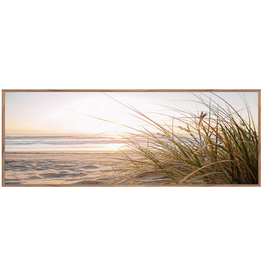 Framed Canvas - Beach Seagrass