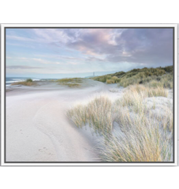 Framed Canvas - Grassy Sandhills