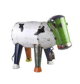 Metal Barnyard Clarence The Cow (Medium)