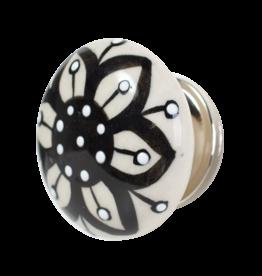Doorknob - Ceramic Black