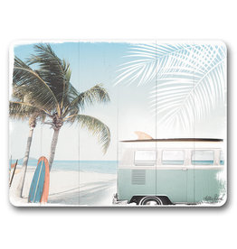 Placemats Set/6 - Wanderlust Palm