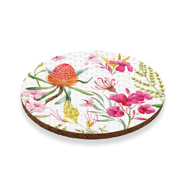 Coaster Set/6 - Floral