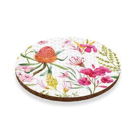 Coaster set with Floral Design