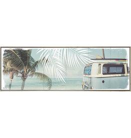 Framed Canvas - Wanderlust Combi