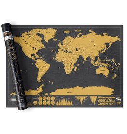 Scratch Map Deluxe Edition (Large)