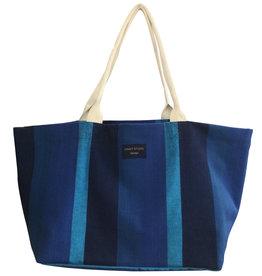 Extra Large Tote Bag Blue Island