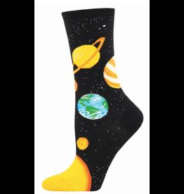Socks for Ladies - Planets