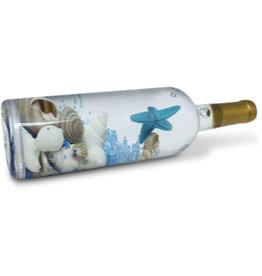 Wine Bottle Beach Magnet