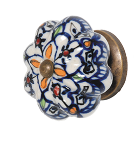 Doorknob - Moroccan Ceramic