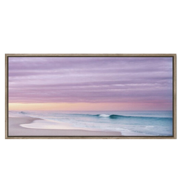 Framed Canvas - Pink Skies