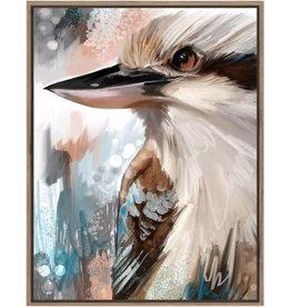 Framed Canvas -  Kookaburra