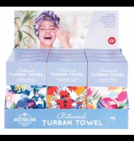 Australian Botanical Turban Towel