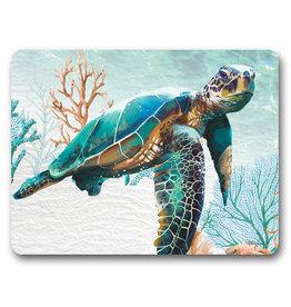 Placemat Set/6 Green Turtle Elliot