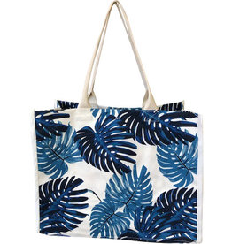 Everyday Tote Bag Blue Tropics