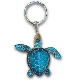 Colourful Turtle Keyring