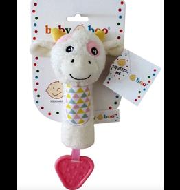 Toy Plush Squeaker - Cow