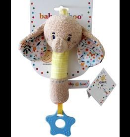 Toy Plush Squeaker - Elephant