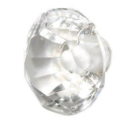 Doorknob Clear Glass Large
