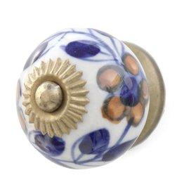 Original Vine Ceramic Doorknob