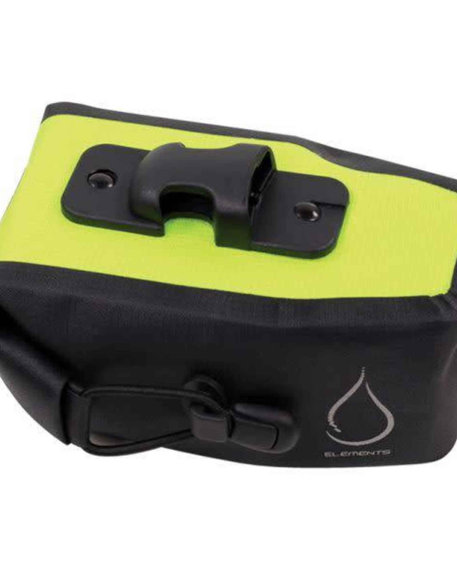 Serfas Serfas Monsoon Waterproof Bag LG Black/Hi Vis Yellow
