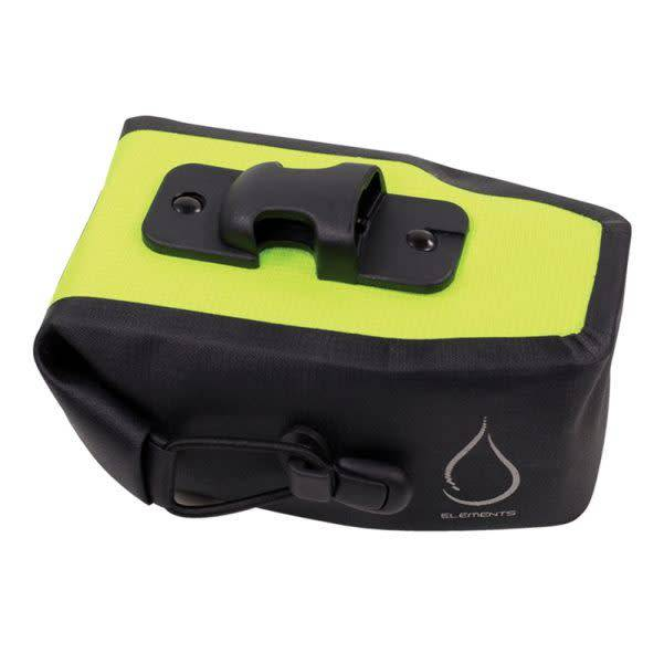 Serfas Serfas Monsoon Waterproof Bag LG Black/Hi Vis Yellow