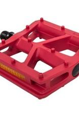Blackops T-Bar Pedals Red