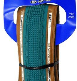 Kenda Panaracer Gravel King SK 700x38 Tubeless Blue Tread Brown Sidewall Tire