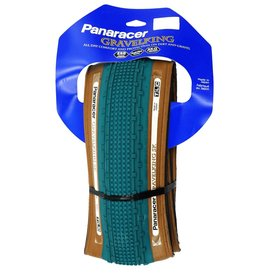 Kenda Panaracer Gravel King SK 700x32 Tubeless Blue Tread Brown Sidewall Tire