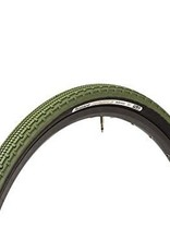 Kenda Panaracer Gravel King SK 700x38 Tubeless Green Tread Black Sidewall Tire