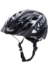 Kali Protectives Kali Chakra Youth Snap Helmet: Gloss Black/Gray, One Size