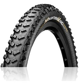 "Continental Continental Mountain King Pro Tection Black Chili Compound 27.5 x 2.6"" Tubeless Ready Black Tire"