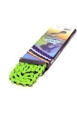 "KMC Z410 Chain: 1/8"" 112 Links Green"