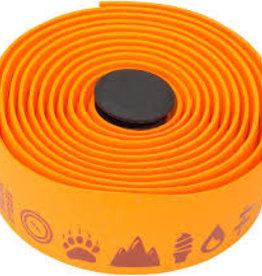 Salsa Glyph Gel Cork Bar Tape Orange