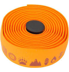 Salsa Glyph Gel Cork Bar Tape Orange