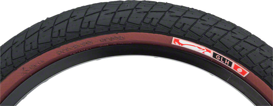 Animal Animal GLH Tire - 20 x 2.25, Clincher, Steel, Black/Maroon, 60tpi