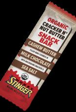 Honey Stinger Cashew Butter Milk Chocolate Cracker N' Nut Butter Bar