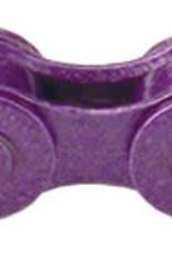 """KMC Z410 Chain: 1/8"""" 112 Links Purple"""