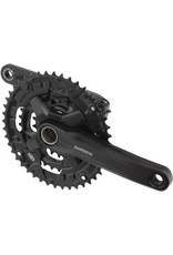 Shimano Shimano FC-MT210-3 44/32/22 9-Speed Holllowtech II 170mm Crankset without Bottom Bracket, Black