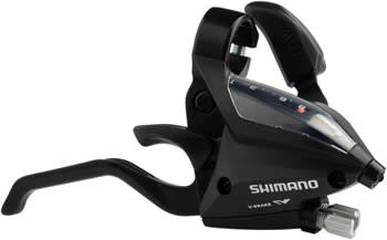 Shimano Shimano EF500 8-Speed Right Brake/Shift Lever, Black
