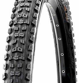 Maxxis Maxxis Aggressor Tire 27.5 x 2.30, Folding, 60tpi, Dual Compound, EXO, Tubeless Ready, Black