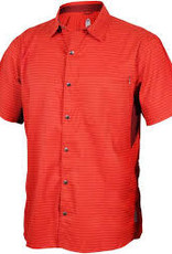 Club Ride Vibe Men's Short Sleeve Shirt: Rust MD