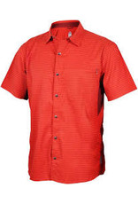 Club Ride Club Ride Vibe Men's Short Sleeve Shirt: Rust MD
