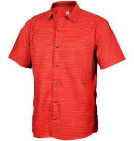 Club Ride Club Ride Vibe Men's Short Sleeve Shirt: Rust MD