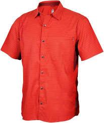 Club Ride Club Ride Vibe Men's Short Sleeve Shirt: Rust LG