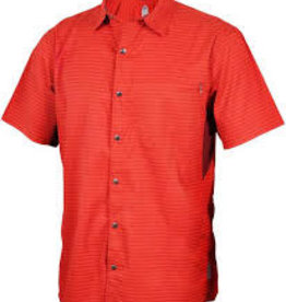 Club Ride Vibe Men's Short Sleeve Shirt: Rust XL