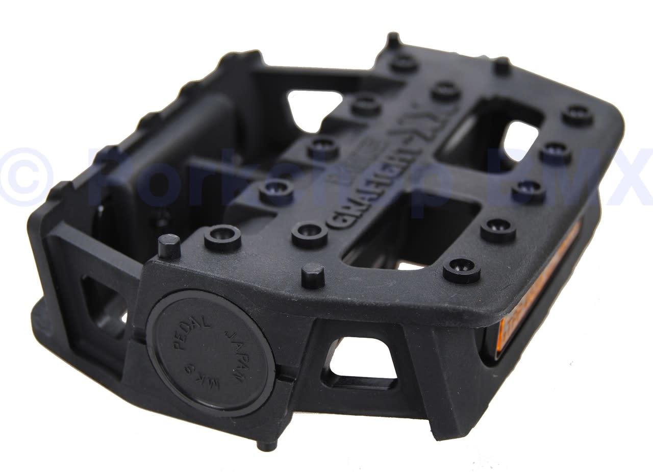MKS MKS Grafight-XX Platform 9/16 Black Pedal