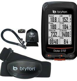 Bryton Rider 310T GPS Computer Bundle w/ HR & Cadence