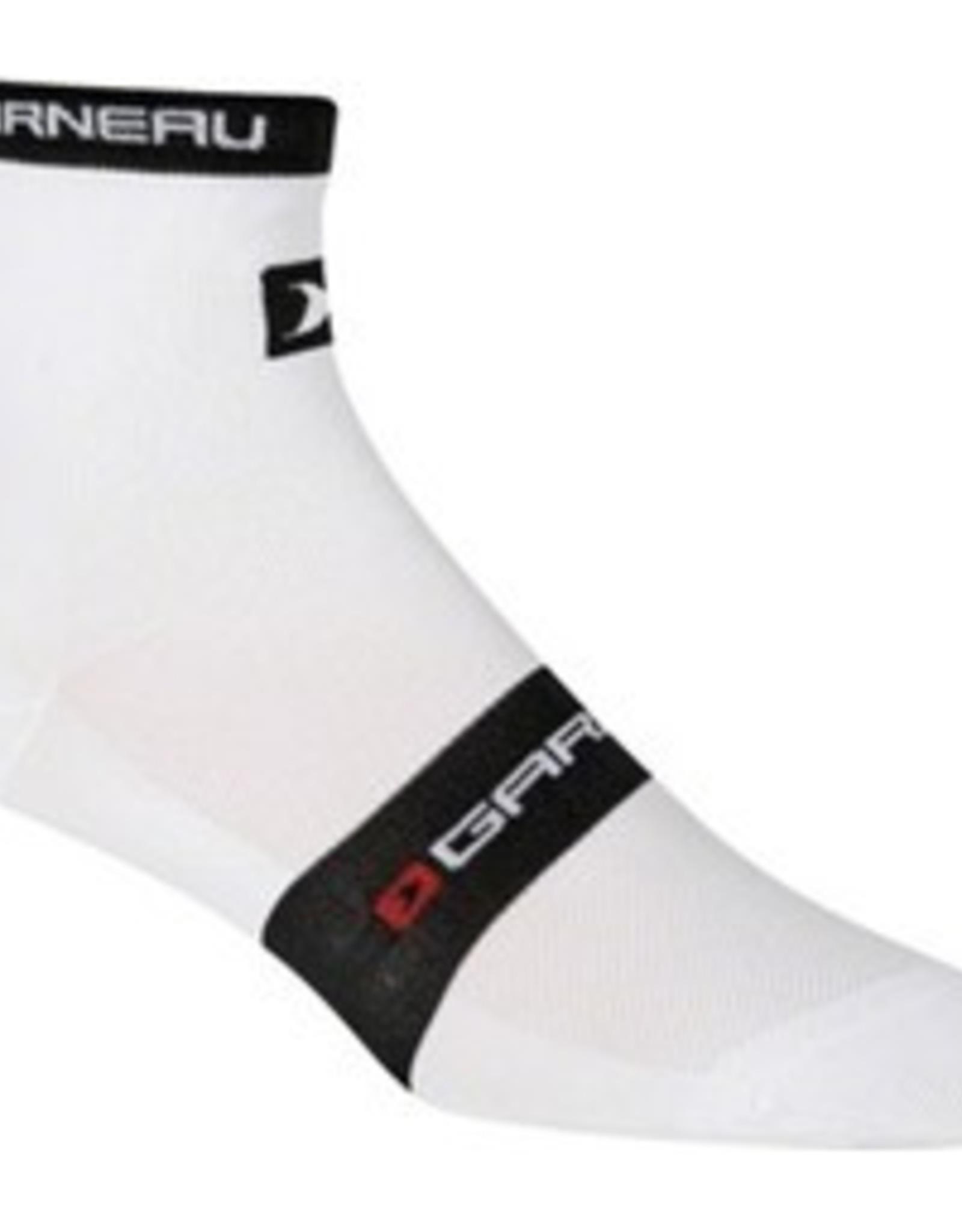 Louis Garneau Louis Garneau Tuscan Sock White LG/XL
