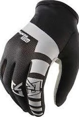 Royal Core Men's Full Finger Glove: Black/White MD