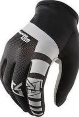Royal Core Men's Full Finger Glove: Black/White LG
